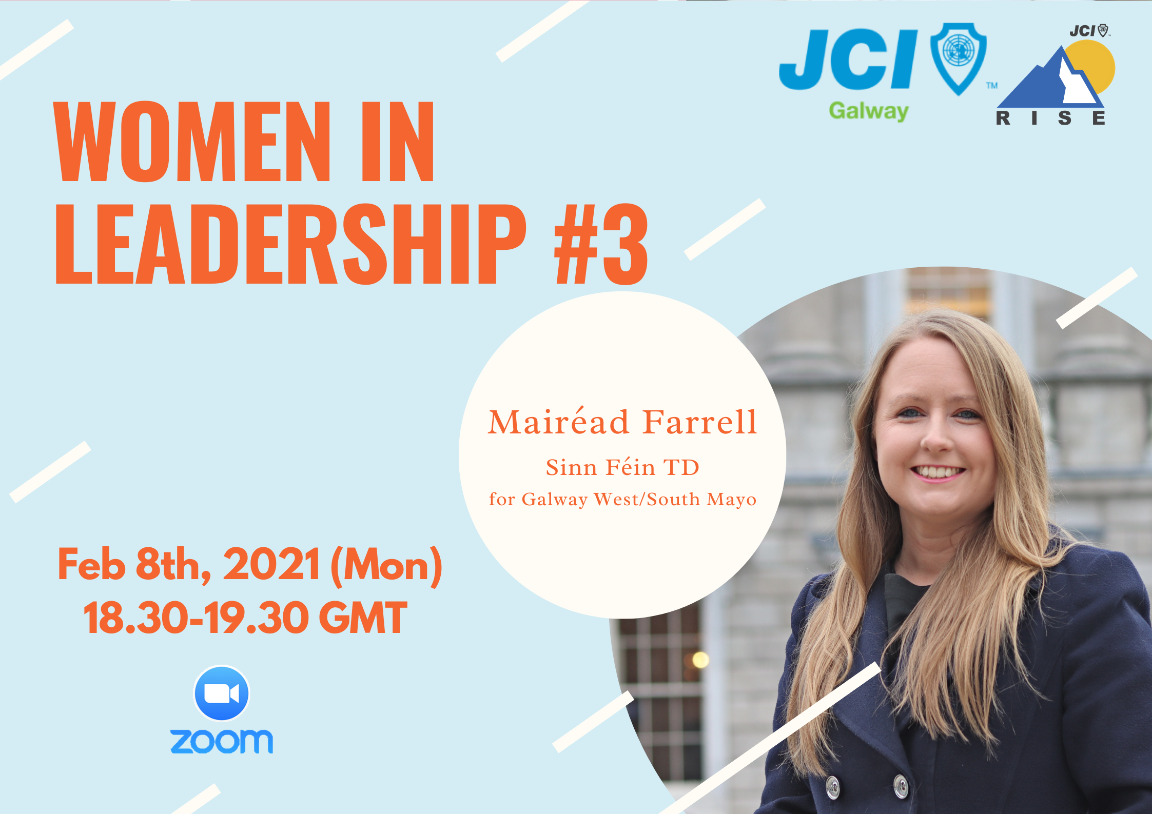 Women in Leadership 3 Presenting Mairead Farrell