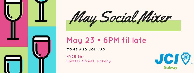 JCI Galway May Social Mixer