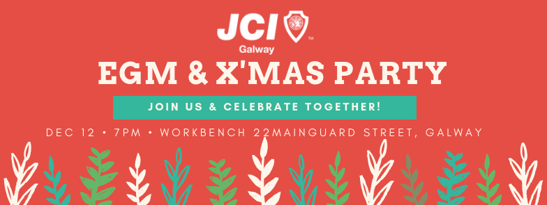JCI Galway AGM & Xmas Party