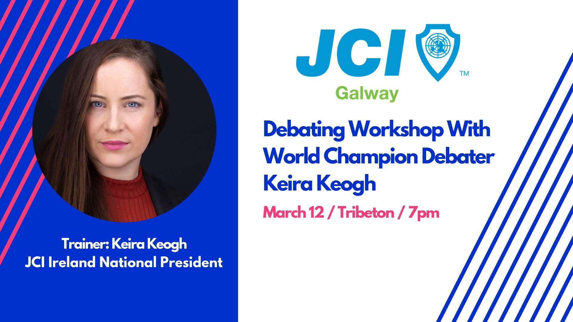 March Members Meeting and Debating Workshop