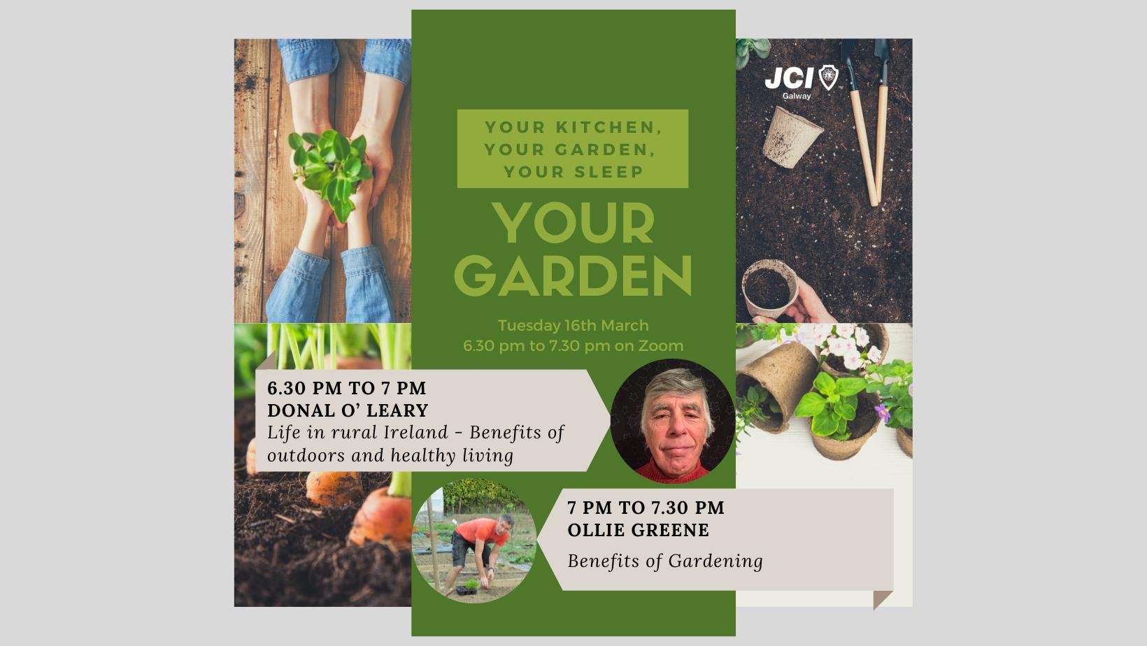 'Your Garden': Life in rural Ireland - Benefits of outdoors, healthy living & gardening